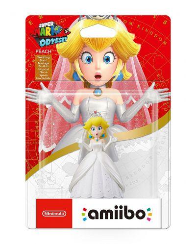 Nintendo Amiibo фигура - Peach [Super Mario Odyssey Колекция] - 3